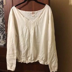 Xl peasant shirt lightweight cotton